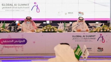 """صورة الغامدي: """"القمة العالمية للذكاء الصناعي"""" ستعقد سنويا"""