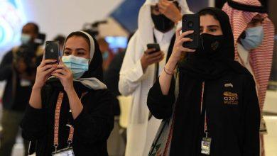 صورة مشاعر فخر لدى الشباب السعودي المشارك في تنظيم قمة العشرين