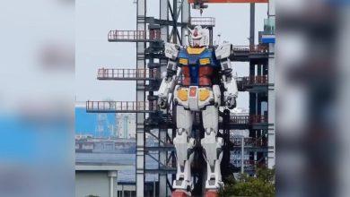 """صورة الروبوت العملاق """"Gundam"""" يتحول لحقيقة بعد 3 عقود!"""