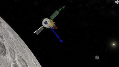 صورة الذكاء الاصطناعى يكتشف 110 آلاف حفرة جديدة على سطح القمر