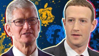 صورة فيسبوك وآبل: ما سبب العداء الشديد بينهما؟