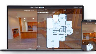 صورة 3D Home يستخدم الذكاء الاصطناعي لتخمين حجم منزلك