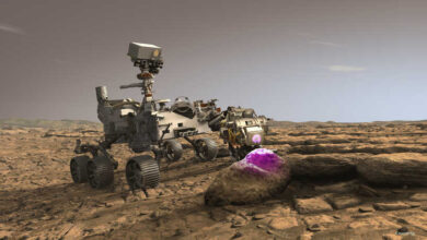 """صورة عيون """"برسفيرنس"""" الثاقبة تكشف وجها آخر للكوكب الأحمر"""