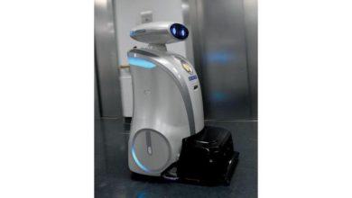 """صورة """"فرانزي"""".. روبوت ينظف المستشفى ويغني للمرضى بالألمانية"""