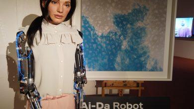 """صورة على هيئة إنسان..تعرف إلى أول فنانة """"روبوت"""" في العالم"""