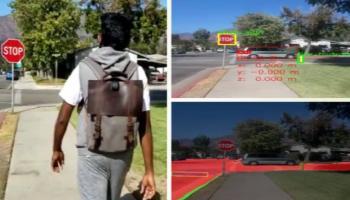 صورة مزودة بذكاء اصطناعي.. حقيبة إنتل تمكن المكفوفين من التنقل بحرية