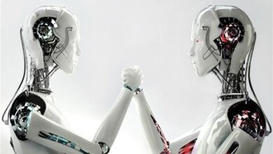 """صورة بالفيديو.. """"الروبوت المرشد"""".. وسيلة لزيارة المعارض الفنية افتراضيا"""