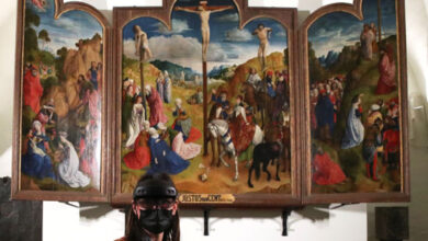 صورة بالصور.. غينت ألتربيس أول تحفة فنية من عصر النهضة تستخدم الذكاء الاصطناعي