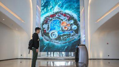 صورة بالفيديو.. فندق صيني تديره الروبوتات