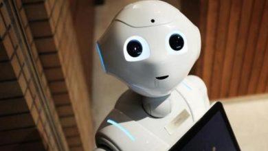"""صورة روبوت إيطالي جديد """"يفكر بصوت عال"""""""