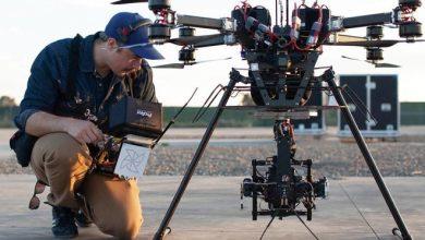 """صورة التحكم آليا في كاميرات """"الدرون"""" من خلال الذكاء الاصطناعي"""