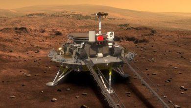 صورة الصين تنجح في إنزال روبوت صغير على المريخ