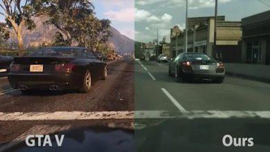 صورة بالفيديو.. إنتل تستخدم التعلم الآلي لجعل GTA V تبدو واقعية
