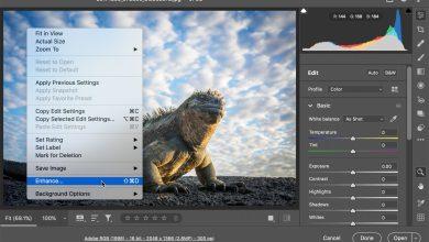 """صورة تحسين جودة الصور بالفوتوشوب عبر """"Super Resolution"""""""