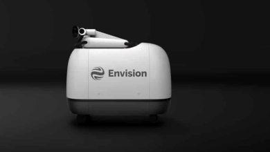 صورة روبوت مستقل لشحن السيارات الكهربائية!