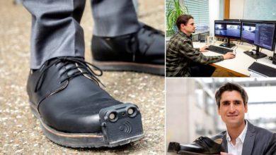 صورة بالفيديو.. حذاء ذكي لمساعدة المكفوفين على تجنب عوائق السير