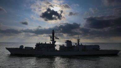 صورة البحرية البريطانية تختبر الصواريخ الأسرع من الصوت بالذكاء الاصطناعي