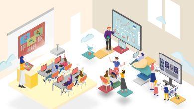 صورة منظومة للذكاء الاصطناعي لتعزيز التواصل غير اللفظي مع الطلاب في قاعات الدراسة الافتراضية