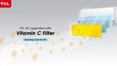 صورة مكيف هواء ذكي يحتوي على فلتر فيتامين سي