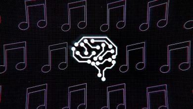 صورة موسيقى من إبداع الذكاء الاصطناعي