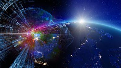 صورة الذكاء الاصطناعي ينشئ خريطة جديدة للروابط الخفية بين المجرات