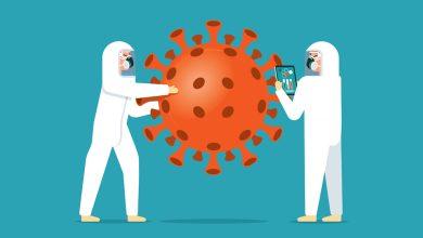 صورة استخدام الذكاء الاصطناعي لفحص أدوية تحارب فيروس كورونا