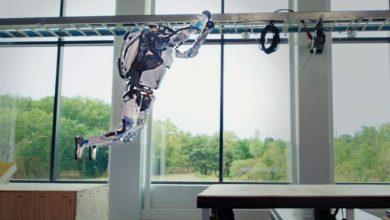 صورة بالفيديو.. الروبوت أطلس يمارس رياضة الباركور