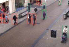 صورة الذكاء الاصطناعي يرصد مخالفات التباعد الاجتماعي في الأماكن العامة