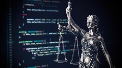صورة تأثير كبير للذكاء الاصطناعي في مجال القانون والمحاماة
