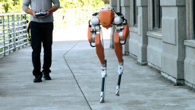 صورة بالفيديو.. روبوت ينجح بالجري 5 كيلومتر دون استخدام الكاميرات
