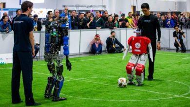 صورة هل يمكن أن يهزم لاعبون آليون أبطال العالم في كرة القدم عام 2050
