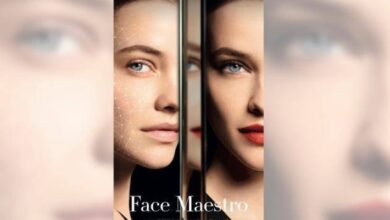 صورة أداة ذكاء اصطناعي تختبر الماكياج على الوجه بأكثر من 200 مظهر