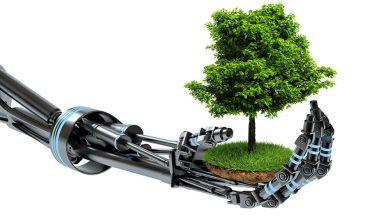 صورة توظيف الذكاء الاصطناعي في خدمة قضايا البيئة
