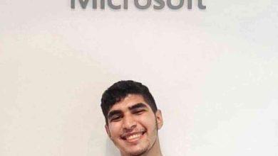صورة مايكروسوفت تعتمد طالبا مصريا كأصغر محترف في تكنولوجيا الذكاء الاصطناعي