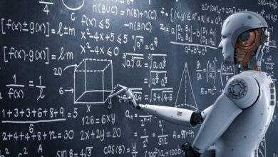صورة ذراع روبوتية لتعليم الأطفال